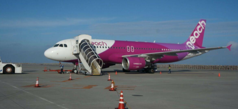 Flypeach letadlo